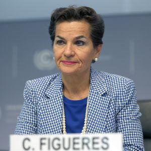 Christiana Figueres är chef för FN:s klimatsekretariat.