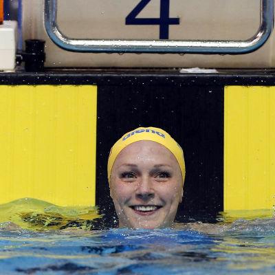 Sarah Sjöström, VM, december 2015.