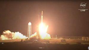 Space-X-uppskjutningen