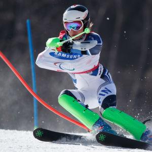 Santeri Kiiveri, Paralympics 2018.