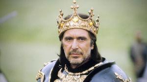 Al Pacino esittää Rikhard III:a ja tutkii Shakespearen saloja elokuvassa Looking for Richard.