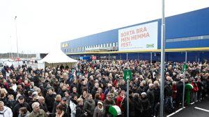 Ikea öppnade en affär i Älmhult i november 2012