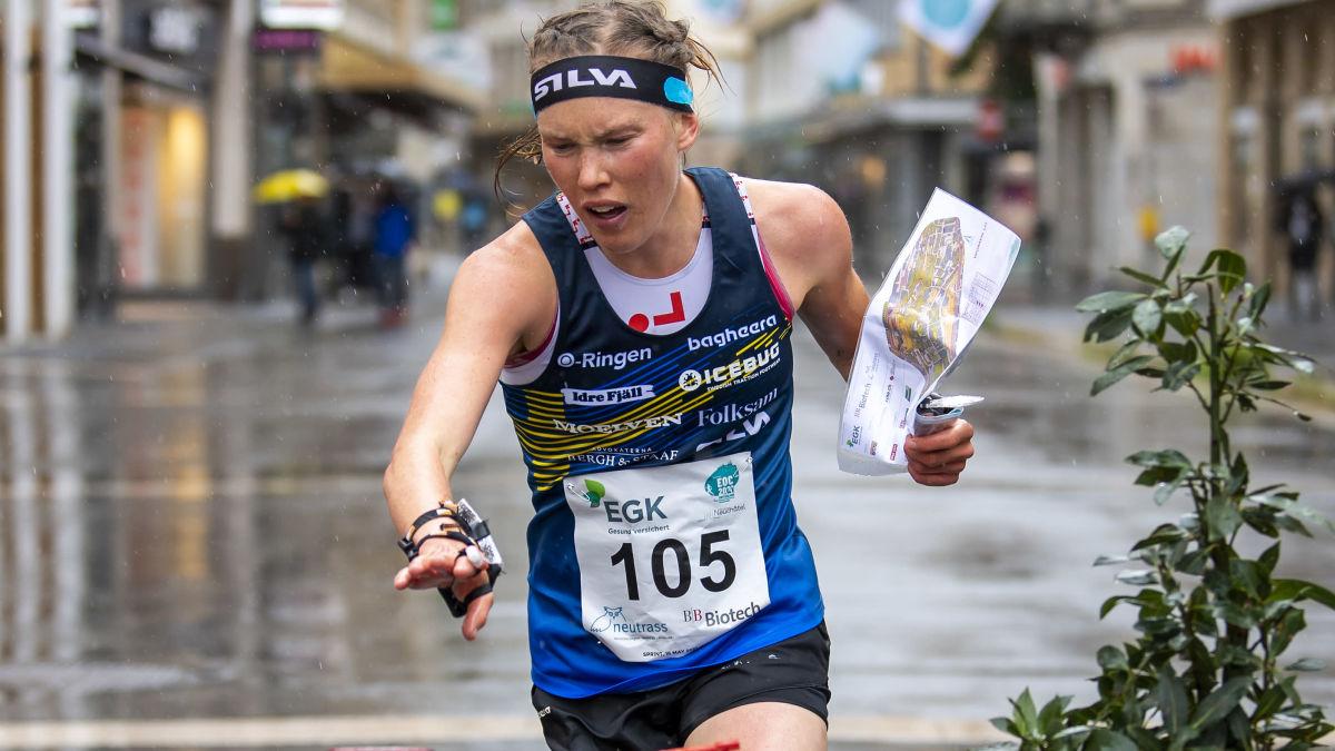 Pargas IF:s Amy Nymalm näst bästa finländare i orienterings-EM:s sprint – Tove Alexandersson vann med knapp ...