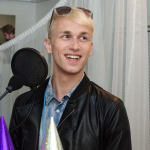 Christoffer Strandberg gör sin första Succémorgonsändning på måndag.