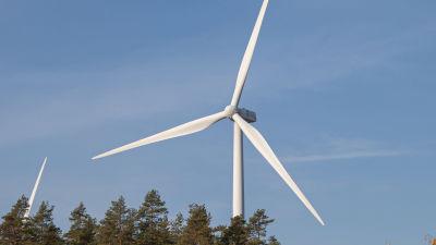Tuulivoimala Muukossa Lappeenrannassa.