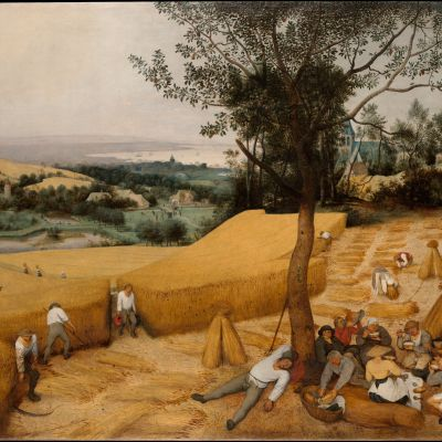 Pieter Bruegel the Elder: The Harvesters