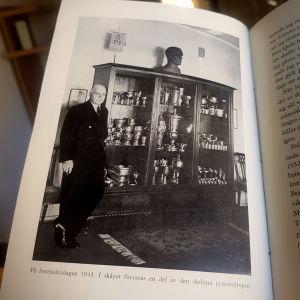 Foto på Clas Thunberg från boken Isen var mitt liv.