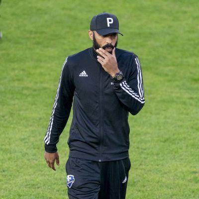 Thierry Henry on valmentanut viime vuosina Monacossa ja Montrealissa.