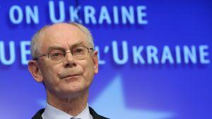 Europeiska rådets ordförande Herman Van Rompuy