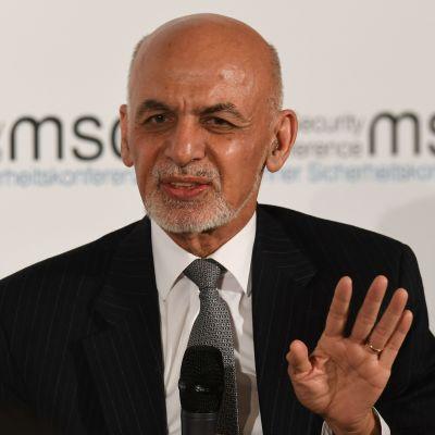 Bild på Afghanistans president Ashraf Ghani