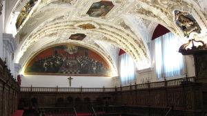 Salamancan Universidad Pontifícian Aula Magna -sali.