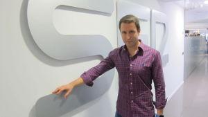 Miguel Munoz Encinas, journalist på den spanska radiostationen Cadena Ser.