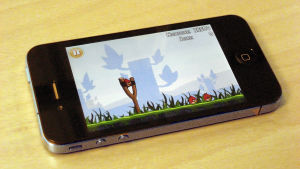 Mobilspelet Angry Birds