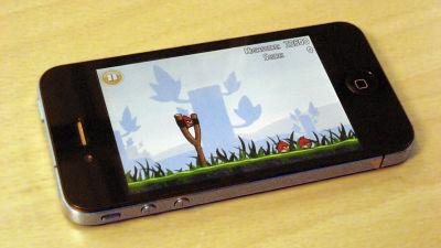 Mobilspelet Angry Birds