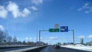 Vinter på Västerleden