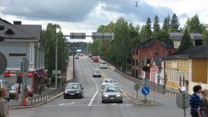 mannerheimgatans bro skiss från öst