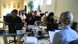 Språkkurs för invandrare i Karis