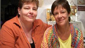 Leena och Marina Furubacka
