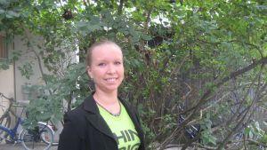 Saara Ilvessalo, De gröna i Åbo