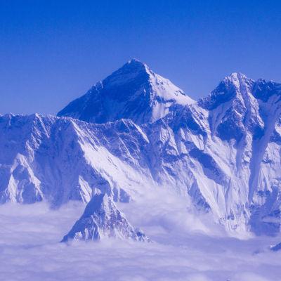 Vy av Mount Everest