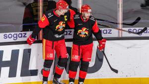 Marko Anttila och Peter Regin