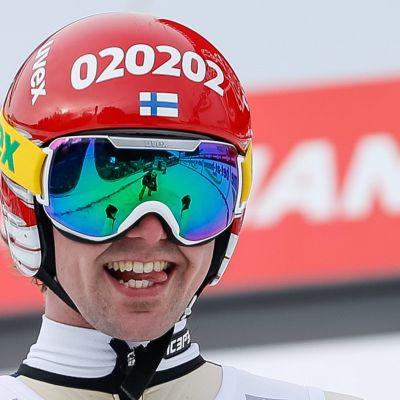 Anssi Koivuranta Innsbruckin osakilpailussa 2014.