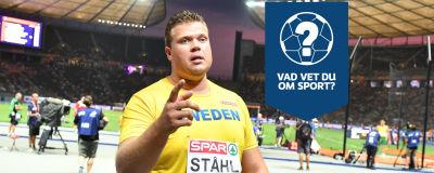 Daniel Ståhl firar.