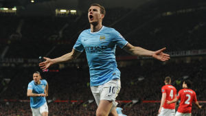 Edin Dzeko, United-City, 25.3.2014