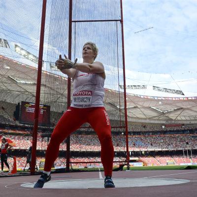 Anita Wlodarczyk, VM i Peking 2015.