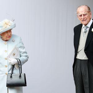 Drottning Elisabeth och prins Philip