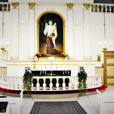 Alajärven kirkon alttari