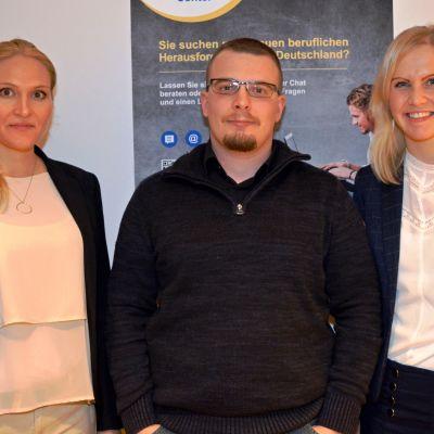 Jessica Breiholz, Matthias Bär ja Anna Burhorst