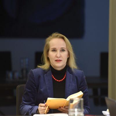 Riksförlikningsman Minna Helle