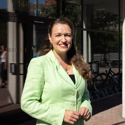 Tampereen pormestariehdokas Anna-Kaisa Ikonen kertoo, miltä kaupungin tulevaisuus näyttää