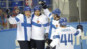 Finlands landslag i ishockey.
