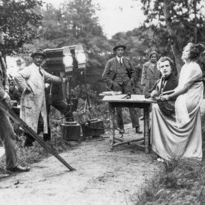 Gösta Berlingin taru -elokuvaa kuvataan