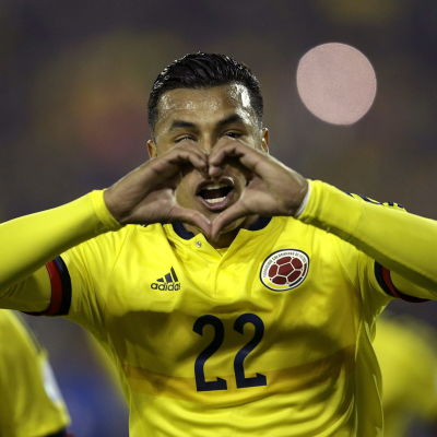 Murillo gör segermålet mot Brasilien.