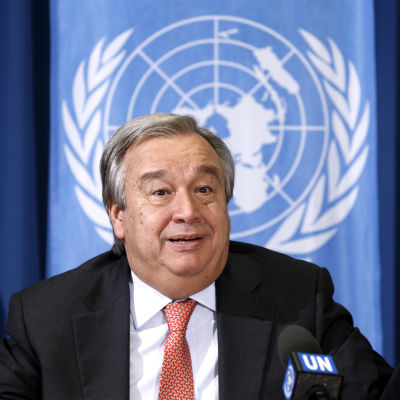 António Guterres.