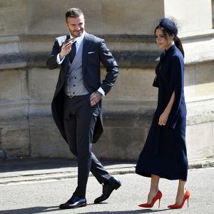 David Beckham och Victoria Beckham