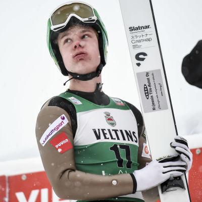 Arttu Mäkiaho, januari 2017.