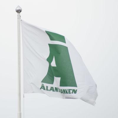 Ålandsbanken, flagga.