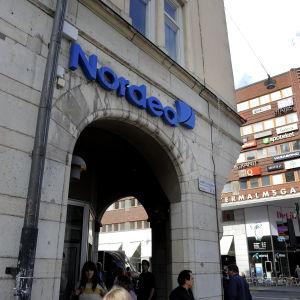 Nordeas huvudkontor i Stockholm.