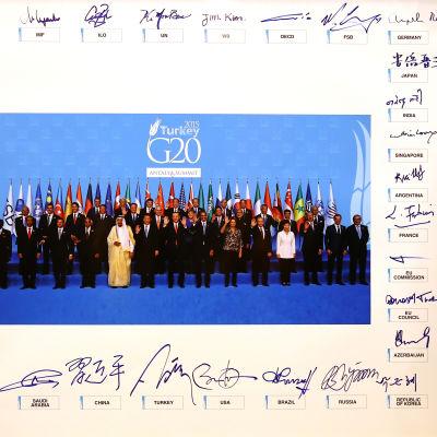 G20-möte i Antalya, Turkiet, 16 November 2015