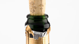 Champagneflaska.