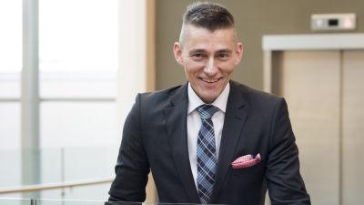 Porträtt av rektor och vd Örjan Andersson