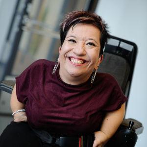 Anna Caldén är ordförande för SAMS.