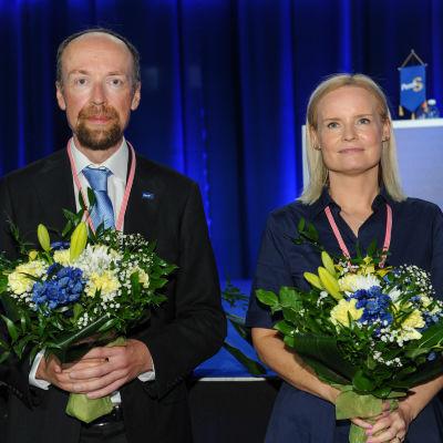 Perussuomalaiset vuosikokous 2021.