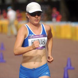 Anne Halkivaha slutade på 54:e plats i London