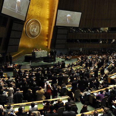 Generalförsamlingen i november 2012