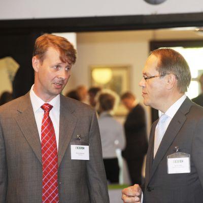 Risto Siilasmaa och Jorma Ollila år 2009.